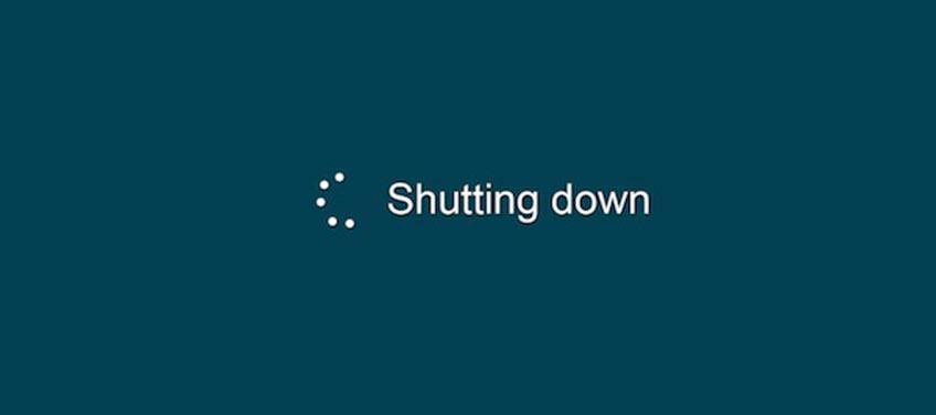 Khắc phục VPS hệ điều hành window tự động shutdown