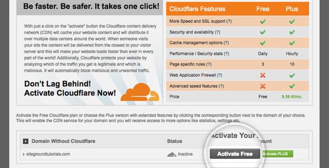 so sánh cloudflare miễn phí và có phí