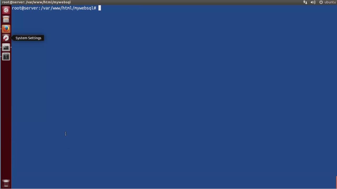 Hướng dẫn cài Mywebsql trên VPS Ubuntu 16.04