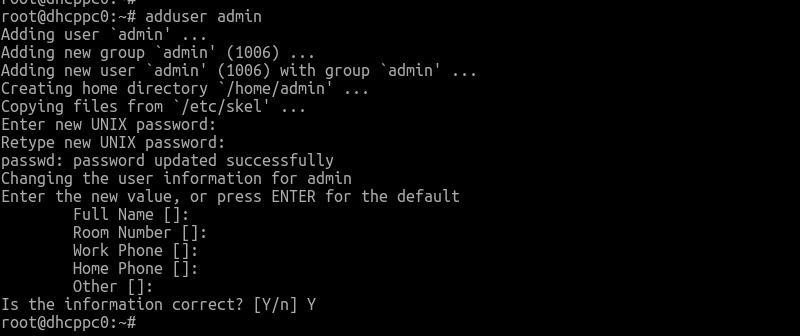 Hướng dẫn tạo và xóa người dùng trên Debian 9