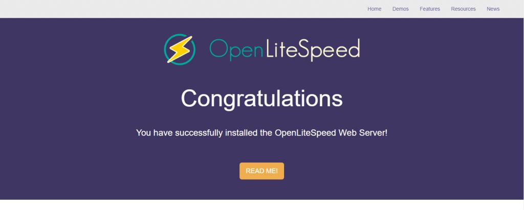 Hướng dẫn cài đặt WordPress với máy chủ OpenLiteSpeed trên Ubuntu 18.04