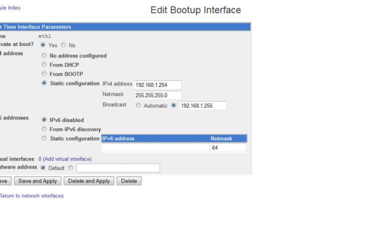 Cách cấu hình Debian với nhiều địa chỉ IP